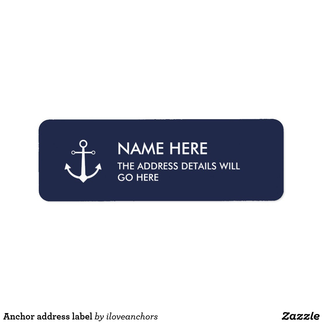 Personalised address labels custom stickers labels