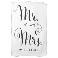 Personalised tea towels