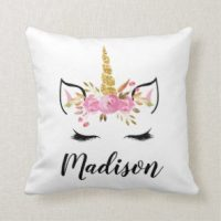 Unicorn cushions