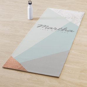 Personalised yoga mats